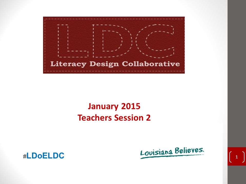 Use the LDC Rubric to Score the Student Sample 52 Reach Associates 2014