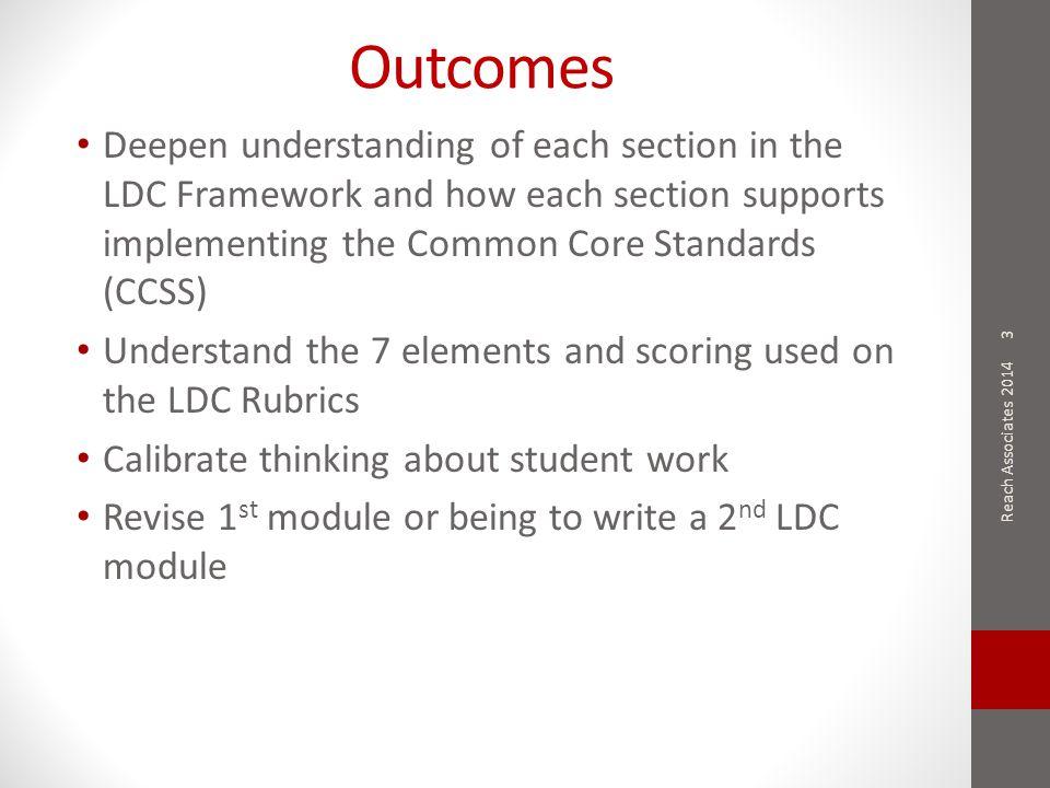 LDC Rubric for Argumentation Template Tasks Paper X Official Scores Reach Associates 2014 54