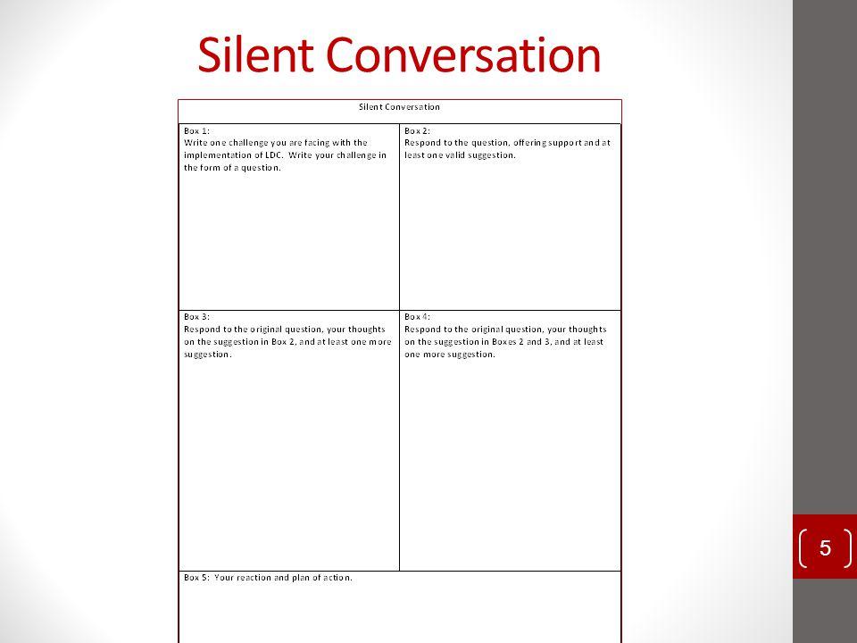 Silent Conversation 5