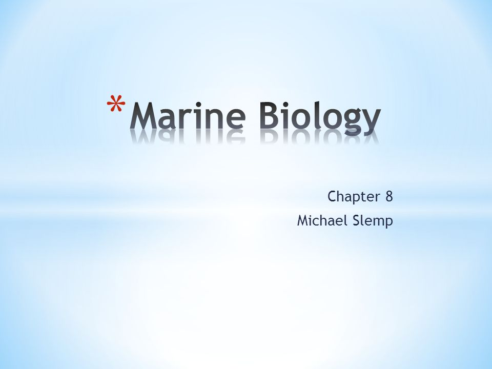 Chapter 8 Michael Slemp