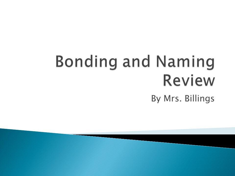 By Mrs. Billings