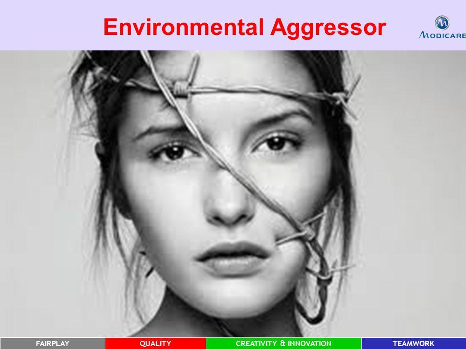 FAIRPLAYQUALITYCREATIVITY & INNOVATIONTEAMWORK Environmental Aggressor