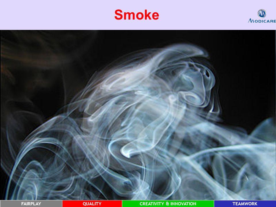 FAIRPLAYQUALITYCREATIVITY & INNOVATIONTEAMWORK Smoke