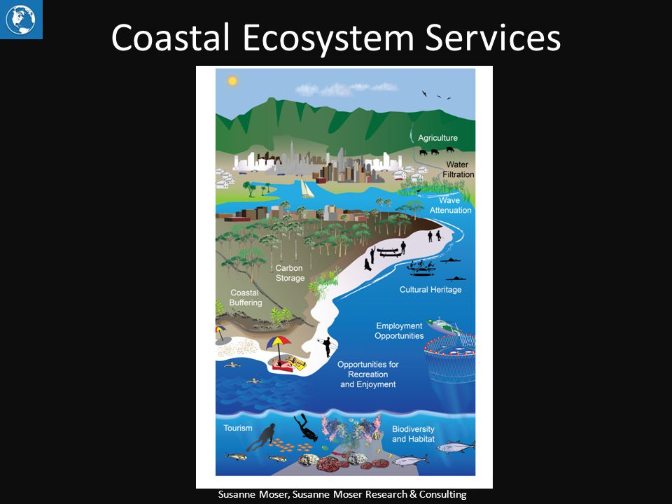 Coastal Ecosystem Services Susanne Moser, Susanne Moser Research & Consulting