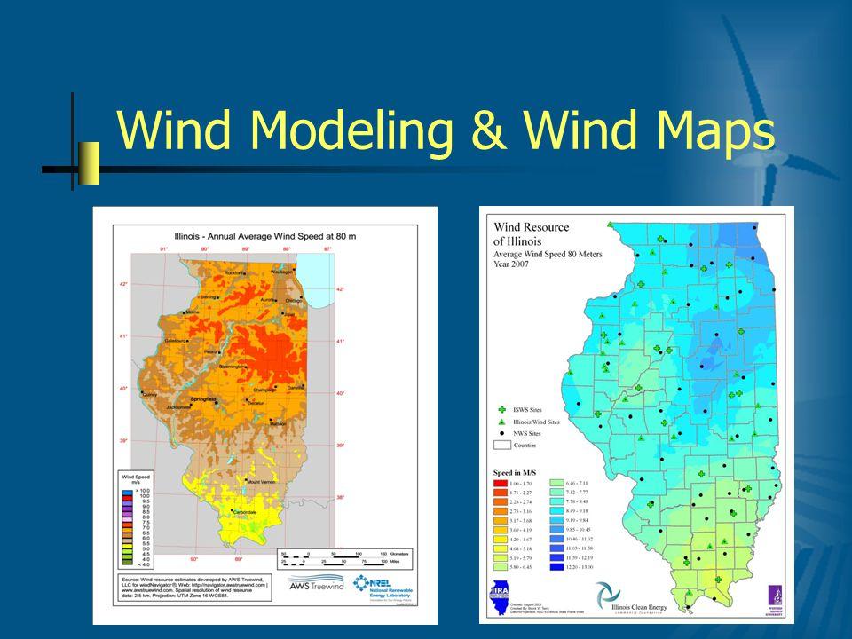 Wind Modeling & Wind Maps