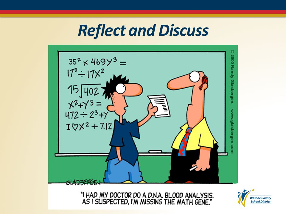 Reflect and Discuss