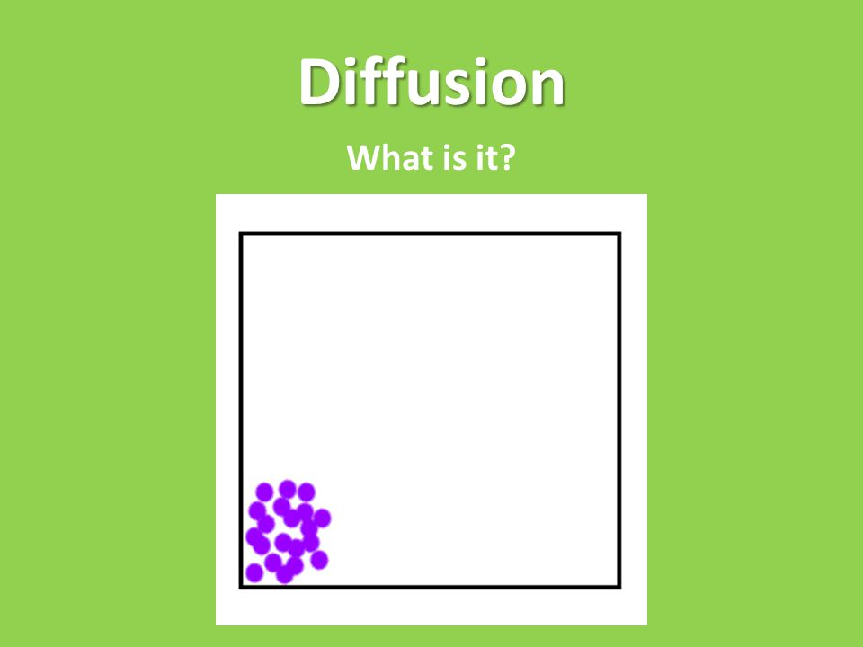 Diffusion What is it