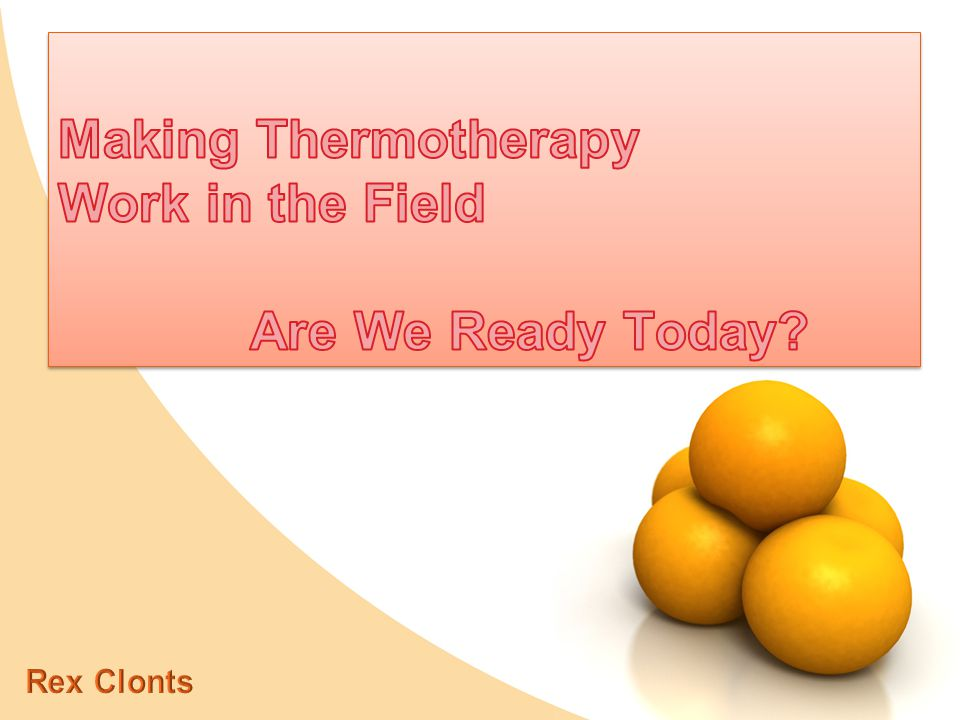 Solar Thermotherapy Works… BUT, can it Save the Industry?