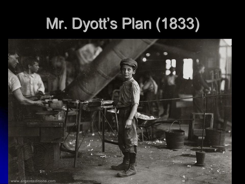 Mr. Dyott's Plan (1833)