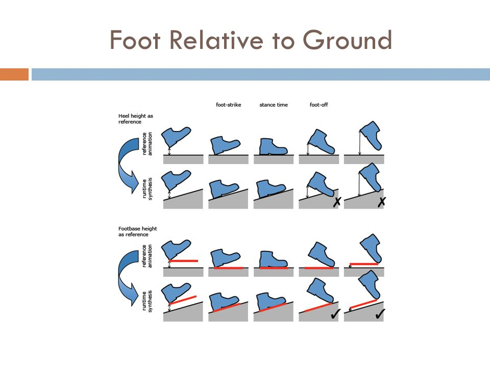 Foot Relative to Ground
