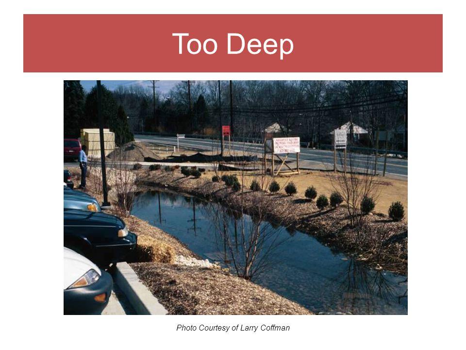 Drainage Area Photo Courtesy of Larry Coffman Too Deep