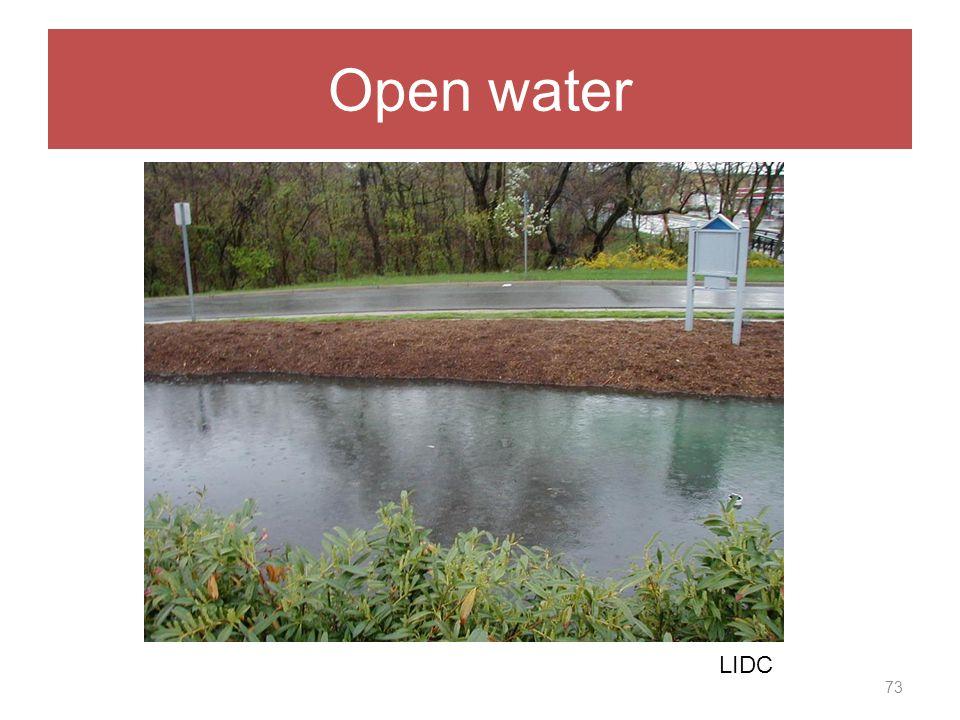 Open water 73 LIDC