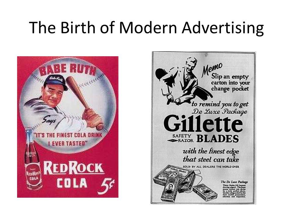 The Birth of Modern Advertising