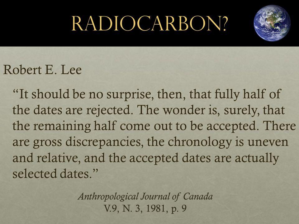 RadioCarbon. Robert E.