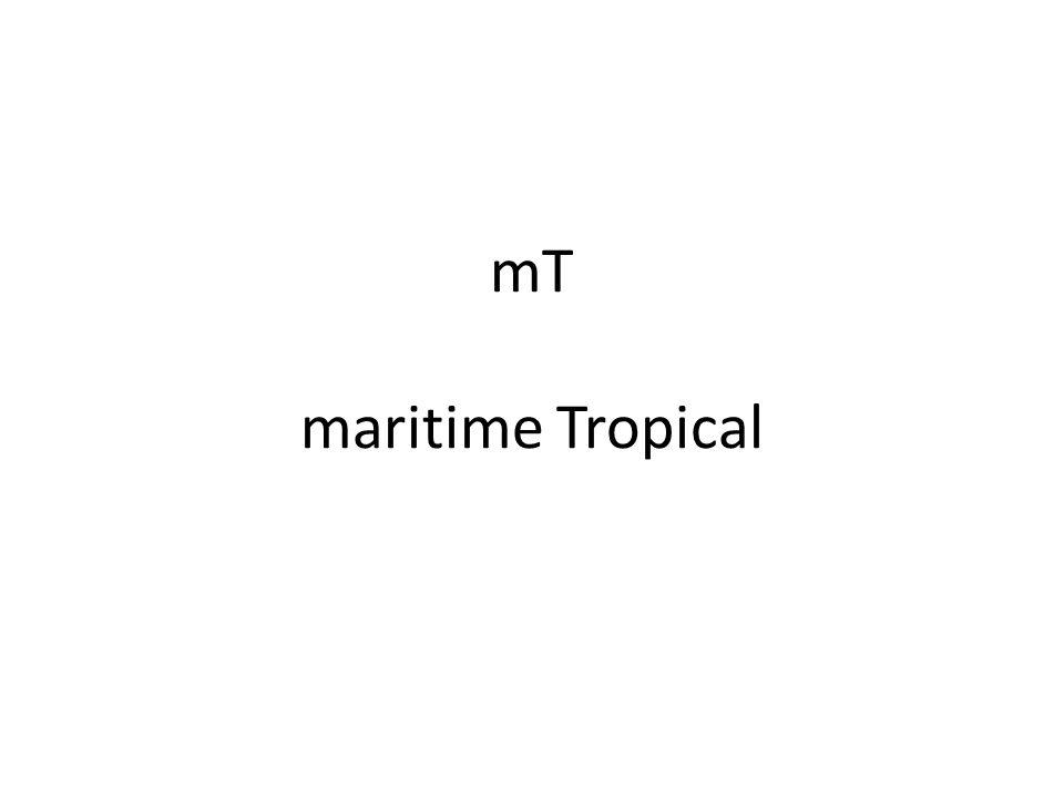 mT maritime Tropical