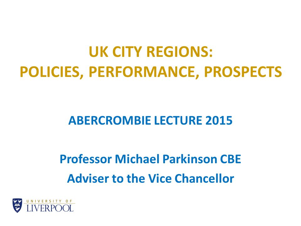 3.WHAT CHALLENGE URBAN POLICY. Constant dilemmas Inner city problems or wider urban system.