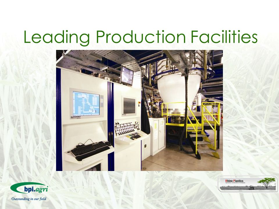 Leading Production Facilities