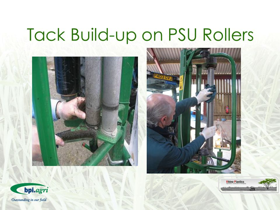 Tack Build-up on PSU Rollers