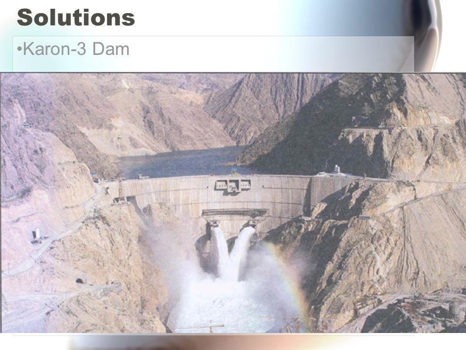 Solutions Karon-3 Dam