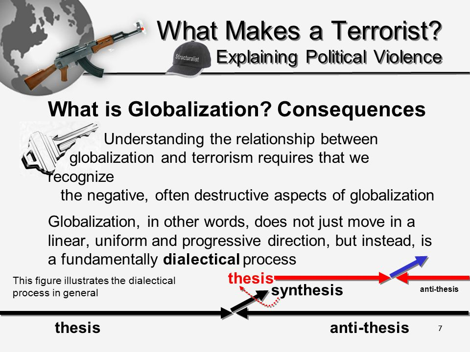 7 What Makes a Terrorist. Explaining Political Violence What is Globalization.