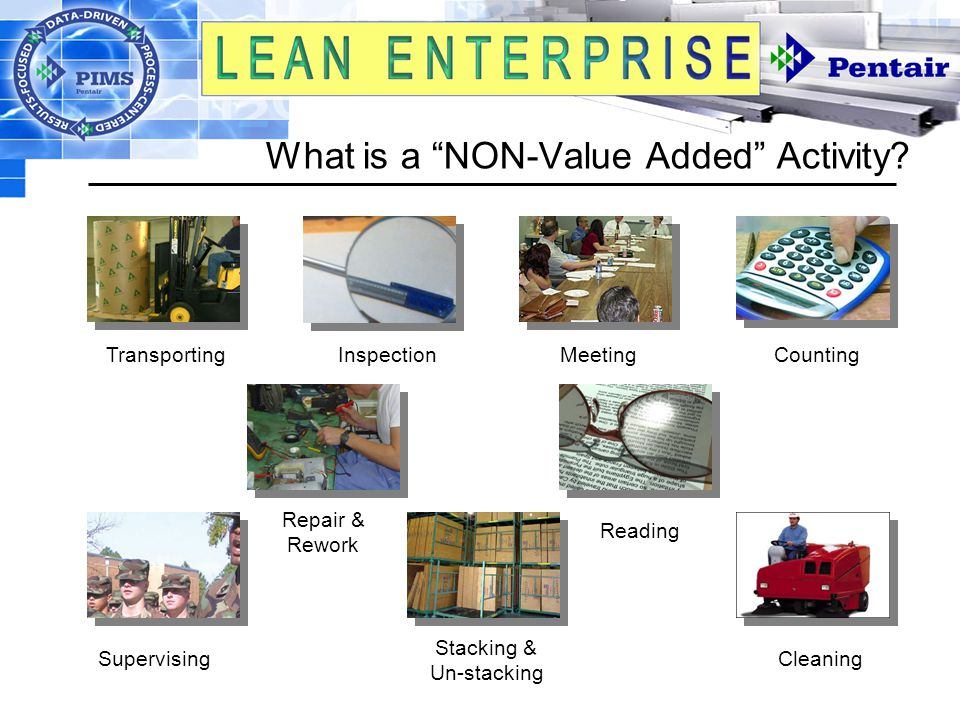 What is a NON-Value Added Activity.