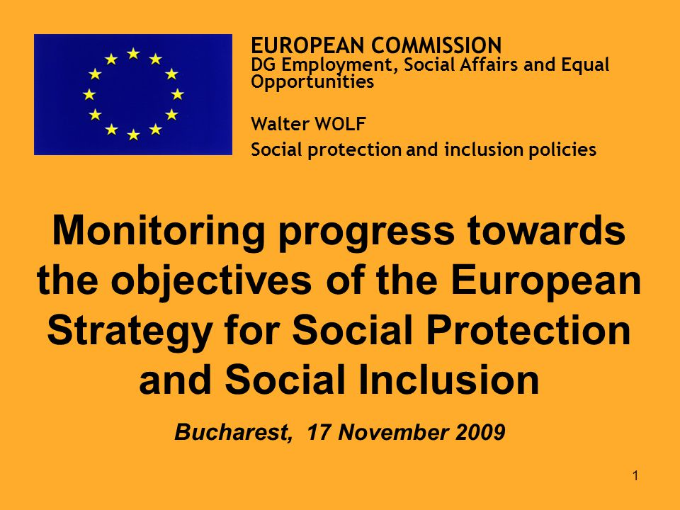 21 EUROPEAN COMMISSION DG Employment, Social Affairs and Equal Opportunities Further Information: DG Employment, Social Affairs and Equal Opportunities website: http://ec.europa.eu/social/main.jsp?catId=751&langId=en http://ec.europa.eu/social/main.jsp?catId=751&langId=fr