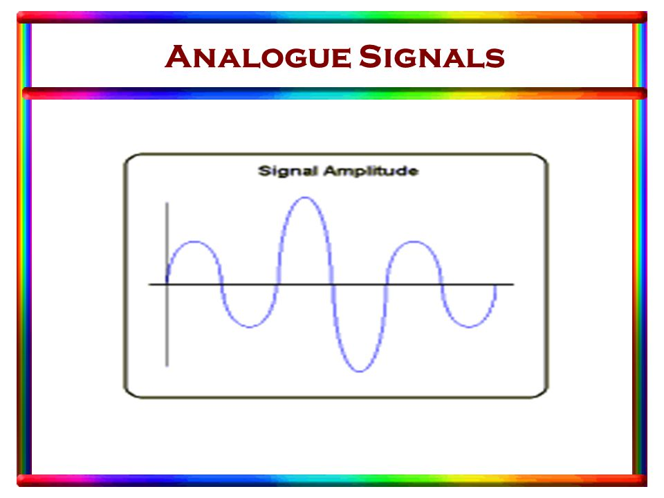 Analogue Signals