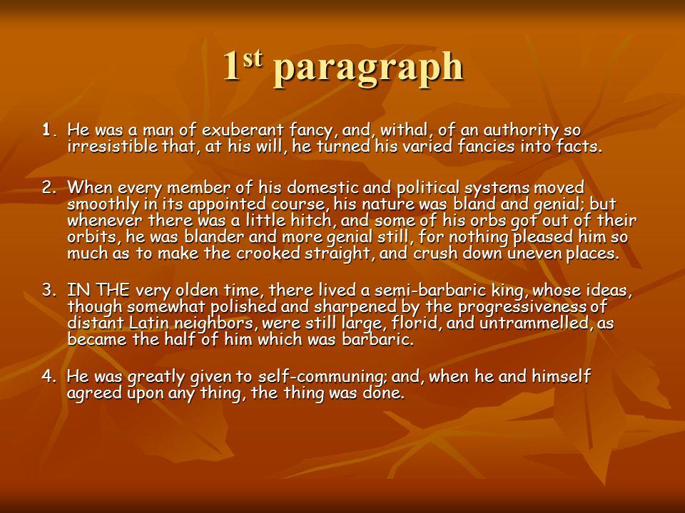 1 st paragraph 1.