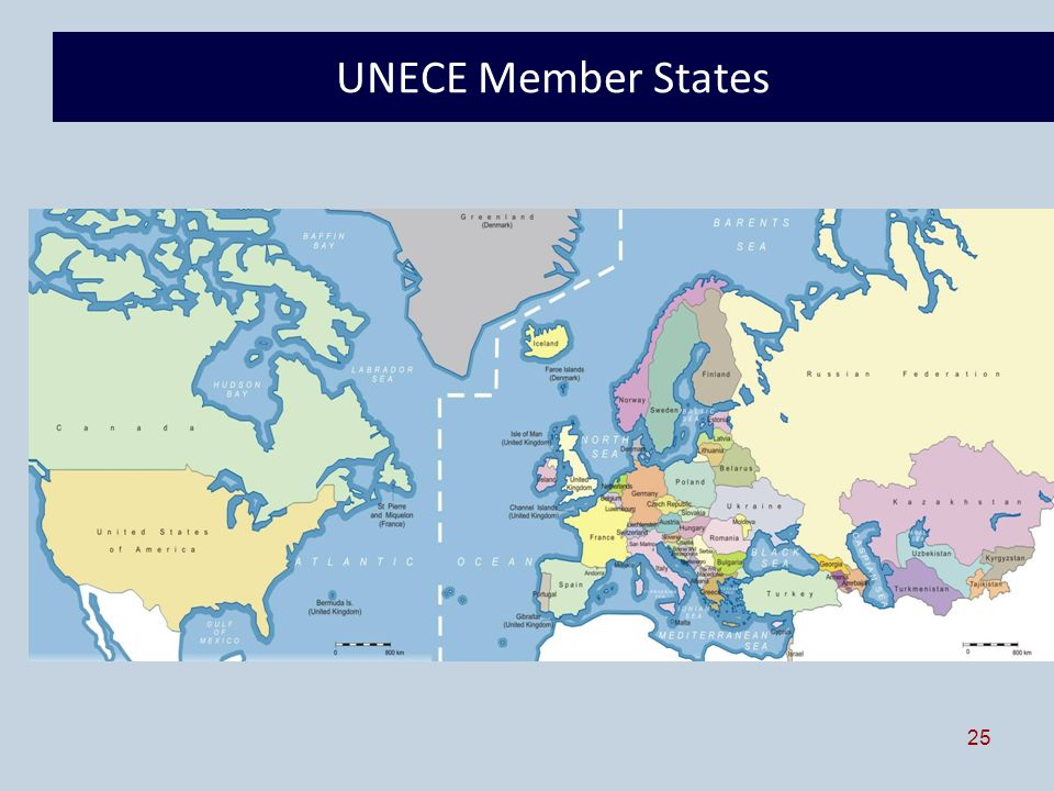 25 UNECE Member States