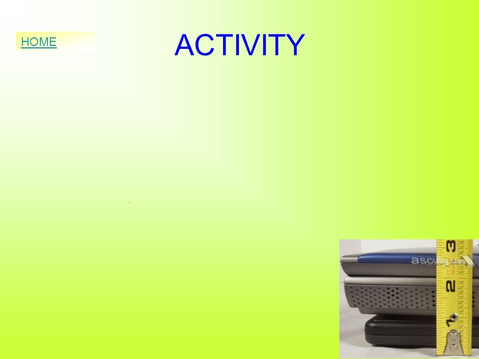ACTIVITY HOME