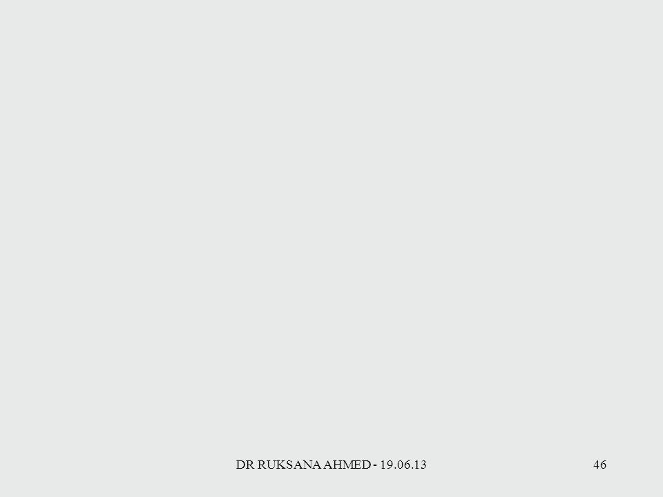 DR RUKSANA AHMED - 19.06.1346