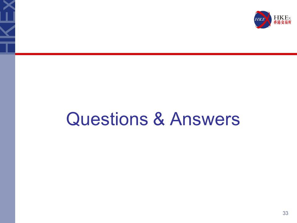 33 Questions & Answers
