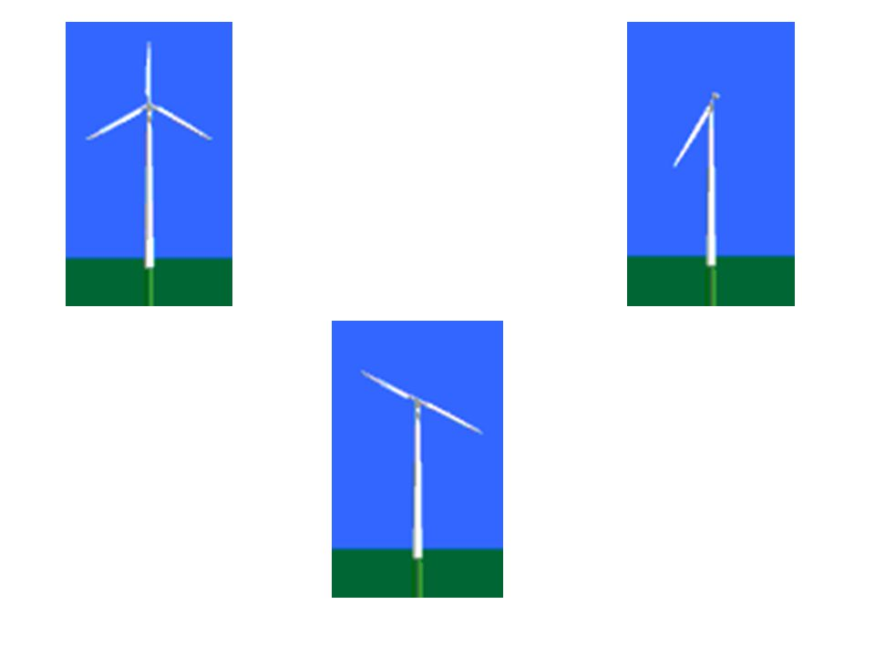 Wind Turbines: Number of Blades Most common design is the three-bladed turbine.