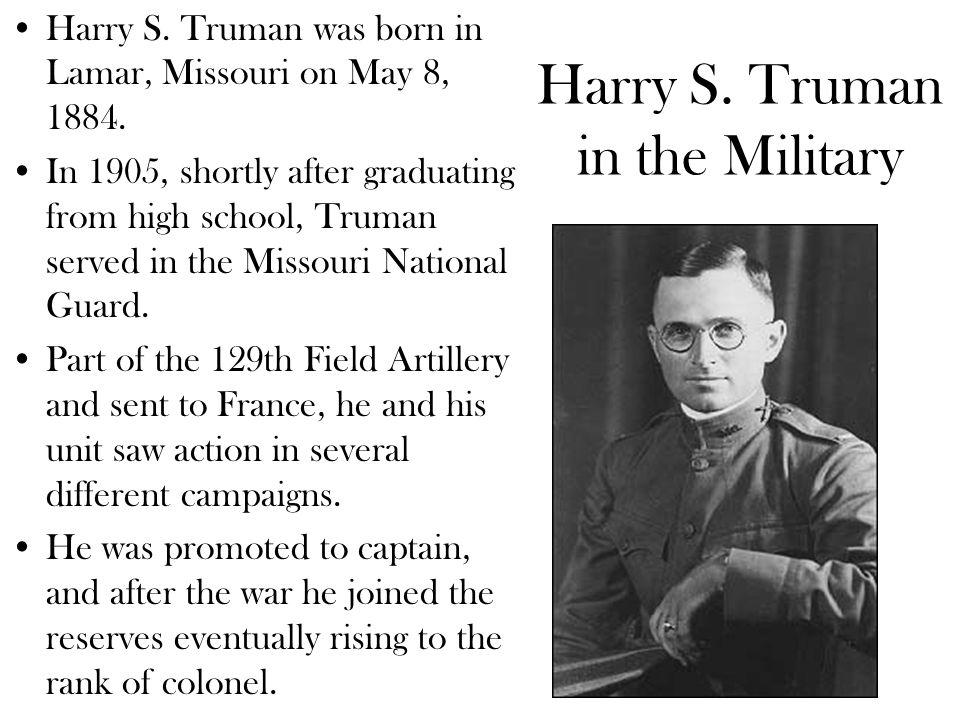 Harry and Bess Truman On June 28, 1919, Truman married Elizabeth Virginia Wallace.