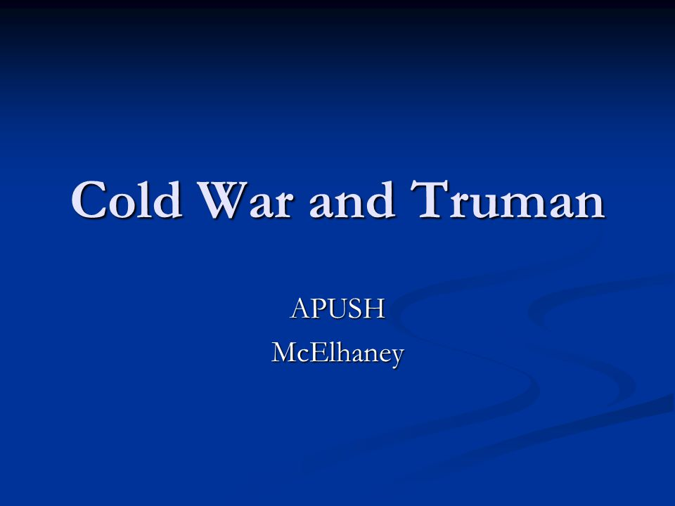 Cold War Essay Questions