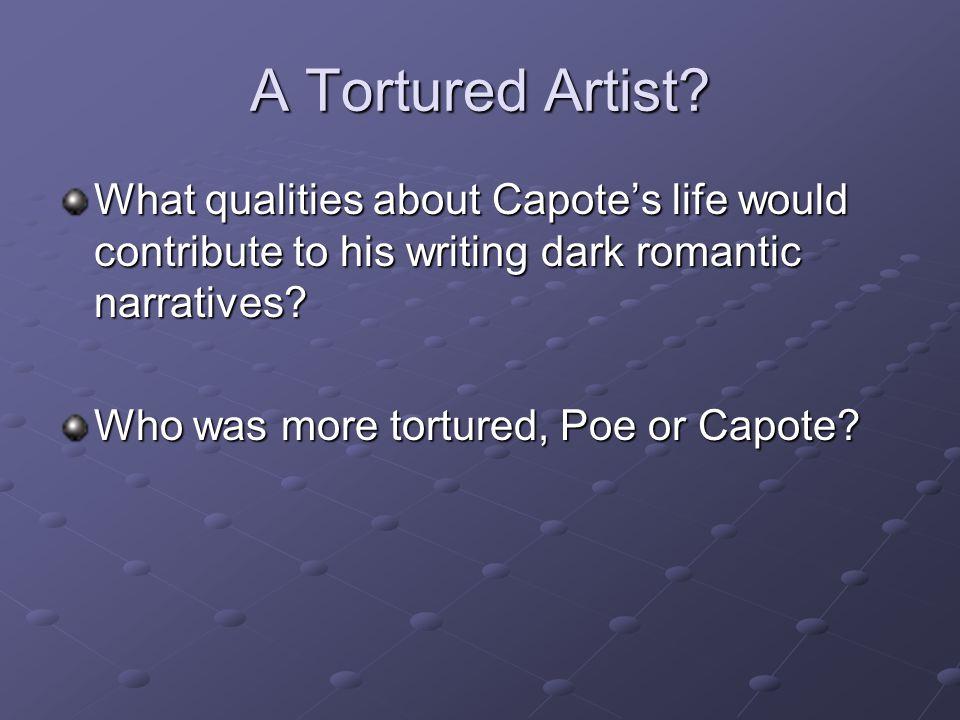 A Tortured Artist.