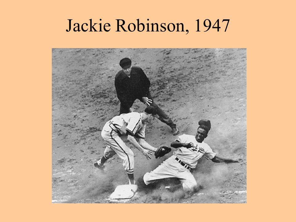 Jackie Robinson, 1947