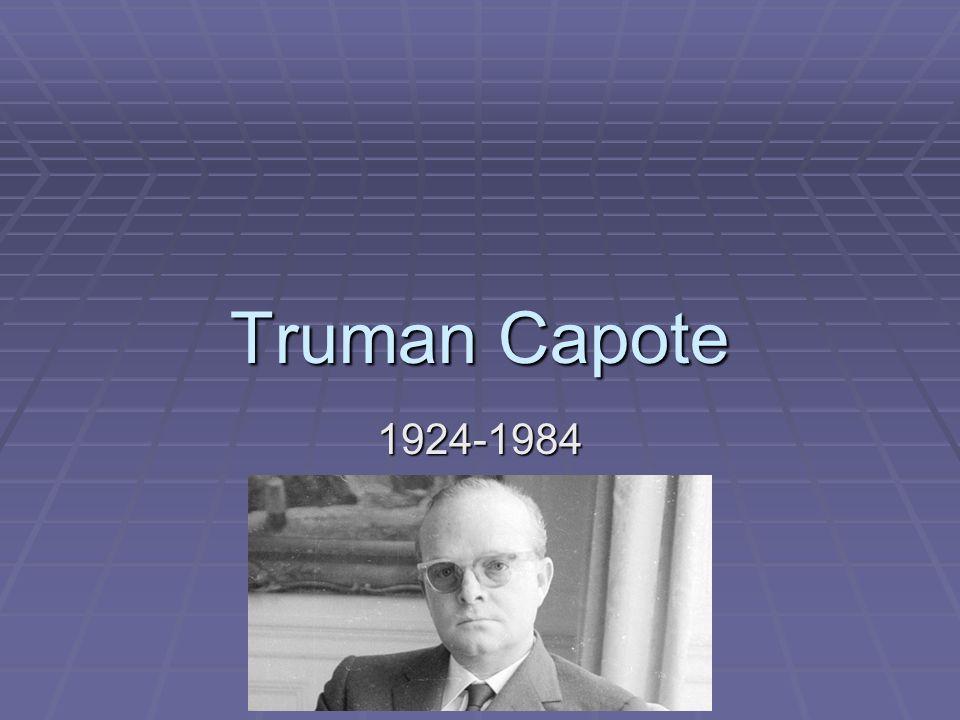 Truman Capote 1924-1984