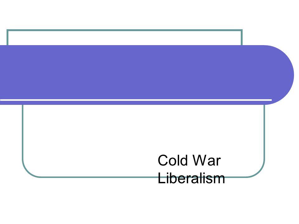 Cold War Liberalism
