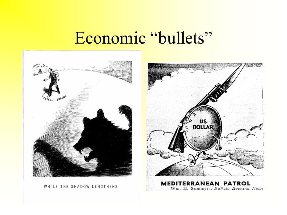 Economic bullets