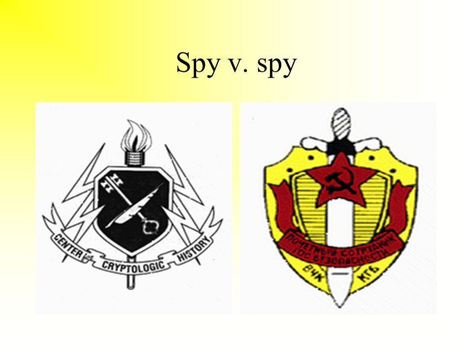 Spy v. spy