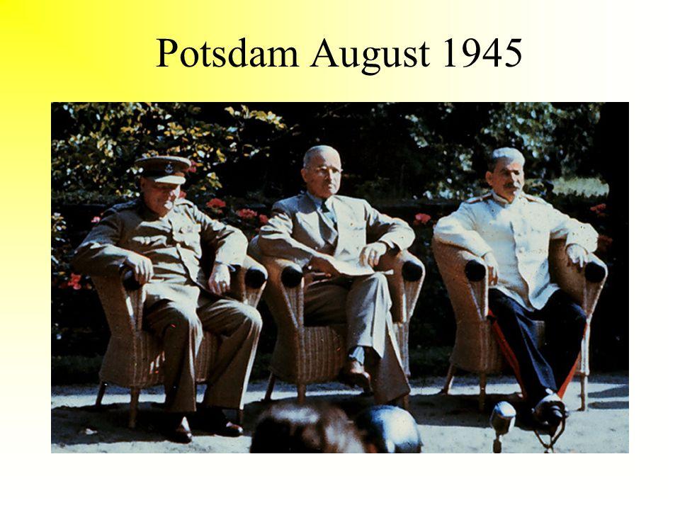 Potsdam August 1945