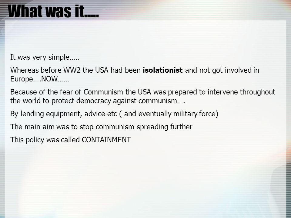 And Stalin He hated Marshall Aid!.He hated Marshall Aid!.