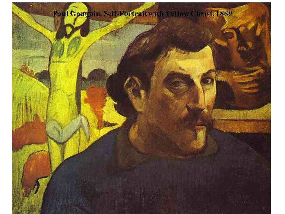 Paul Gauguin, Self-Portrait with Yellow Christ, 1889