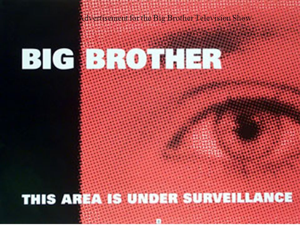 Advertisement for the Big Brother Television Show