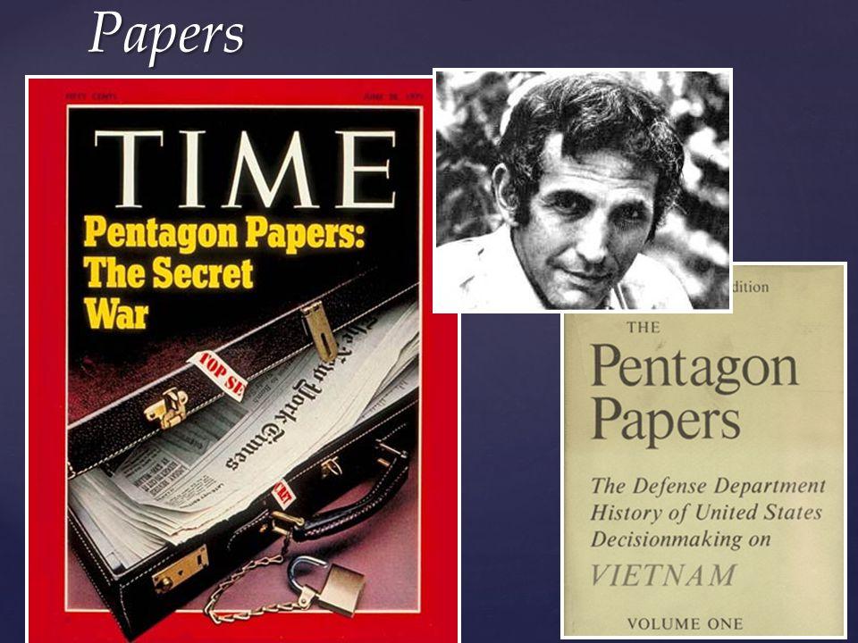 Daniel Ellsberg's Pentagon Papers
