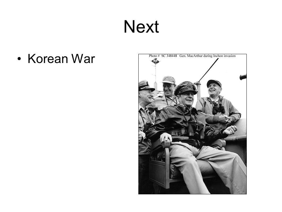Next Korean War