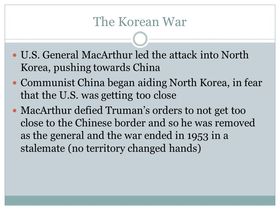 The Korean War U.S.