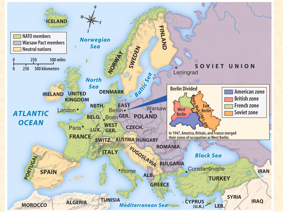 The threat of Stalinism represented an ideological conflict between the Soviet Union and the United States