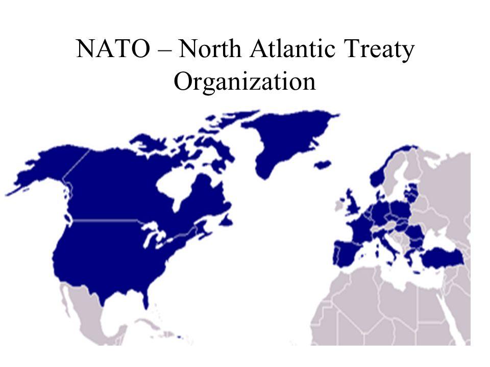 NATO – North Atlantic Treaty Organization